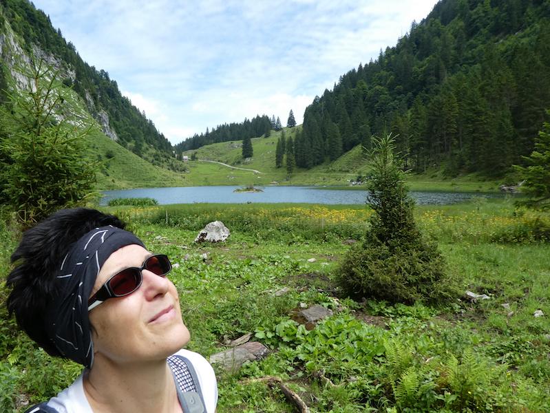 Auch go4health Geschäftsführerin Dr. Karoline Simonitsch hat das Wandern zu ihrem Hobbysport gemacht.