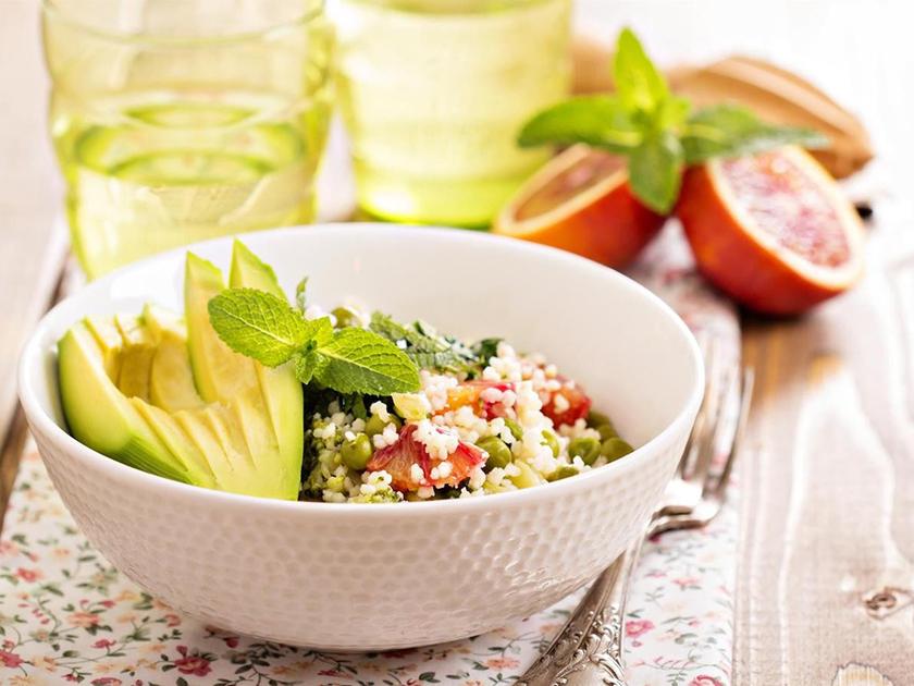 Die go4health Power-Hirse-Bowl enthält die Mikronährstoffe Vitamin B6 und Vitamin D.