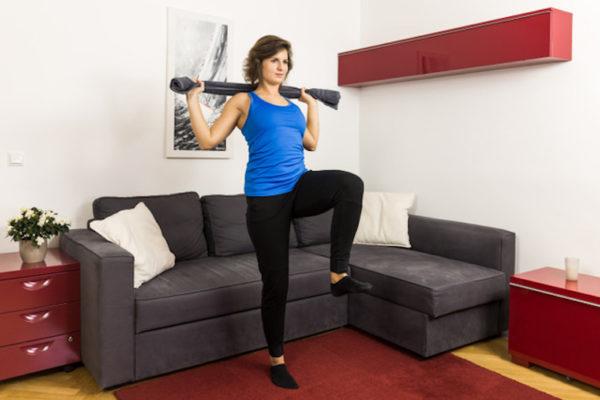 Mache dich fit gegen Rückenverspannungen mit dem go4health Rückenfit-Programm und deiner go4health-App.