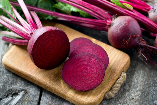 Rote Beete als heimisches Superfood.