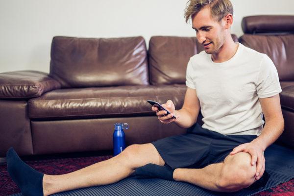 Lockeres, tägliches Training ist auch zu Hause möglich.