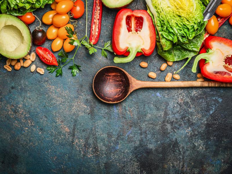 Pflanzliche Ernährung – Veganismus