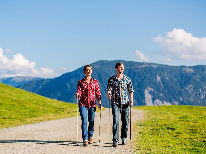 Wandertipp #1: Ausdauertraining bereitet deinen Körper auf das Wandern vor.