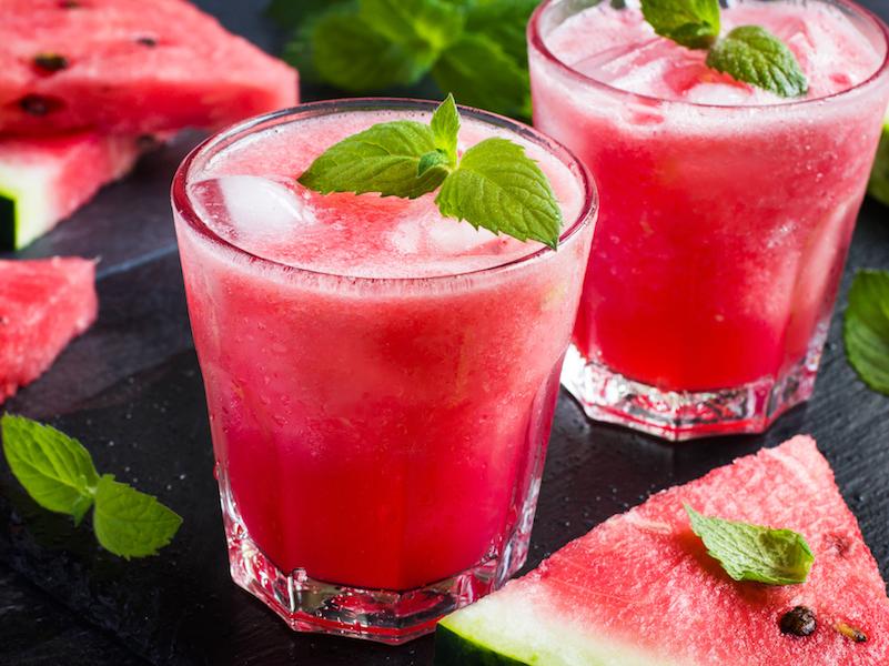 Dein go4health Wassermelonen Sorbet ist ein gesunder Snack im Sommer.