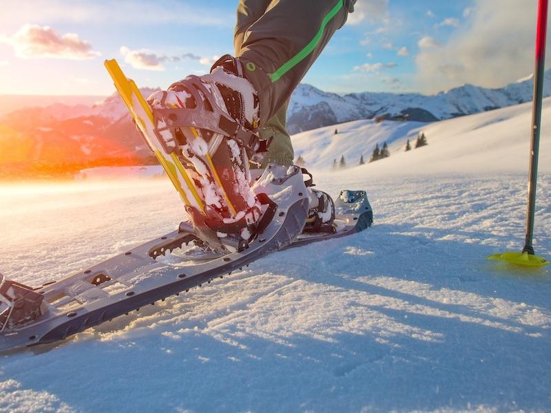 Schneeschuhwandern: Naturerlebnisse auf großem Fuß