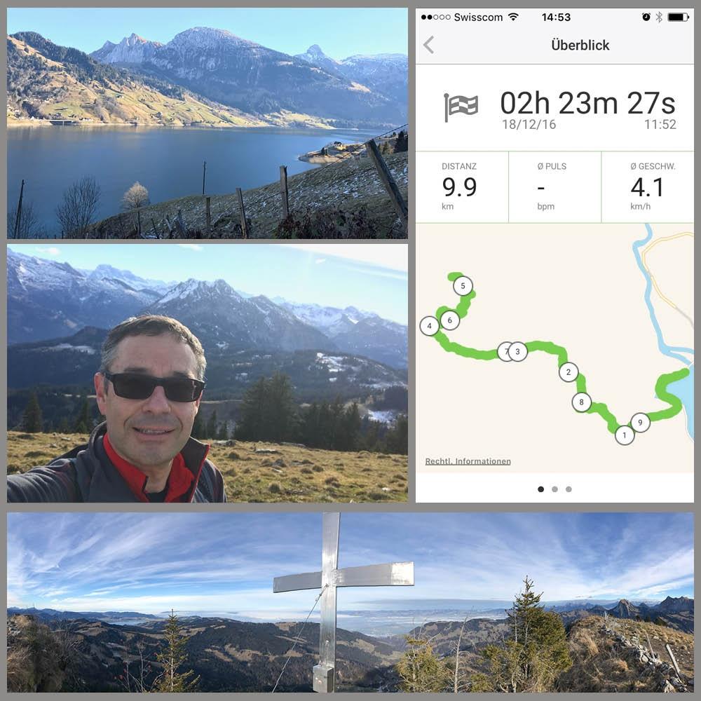 GPS Tracking mit go4health: beim Wandern, Laufen, Radfahren und vielem mehr.