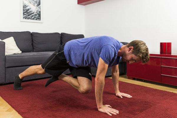 Um ein effektives Training zu erreichen, sollte eine wöchentliche Mindesttrainingszeit eingehalten werden.