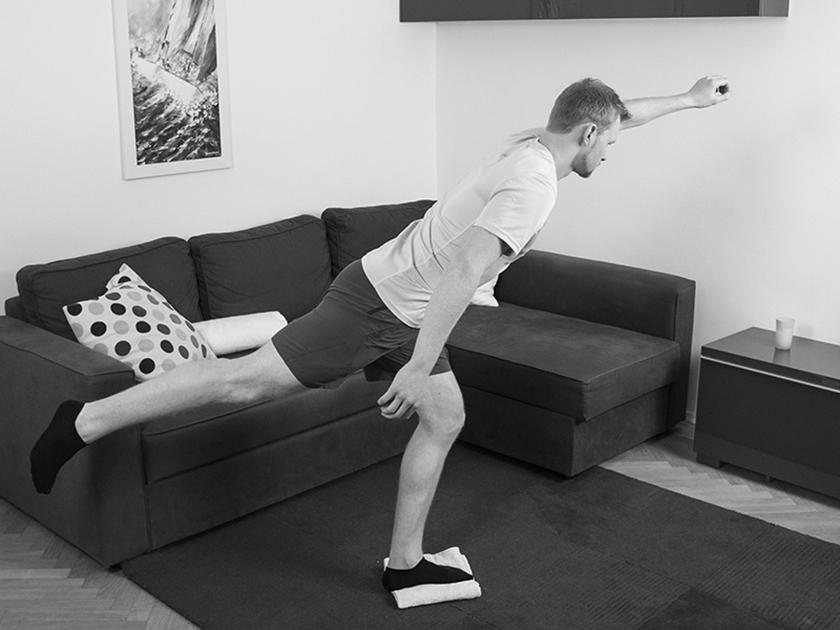 Standwaage oder Superman, die go4health Stabilisationsübung fürs Laufen