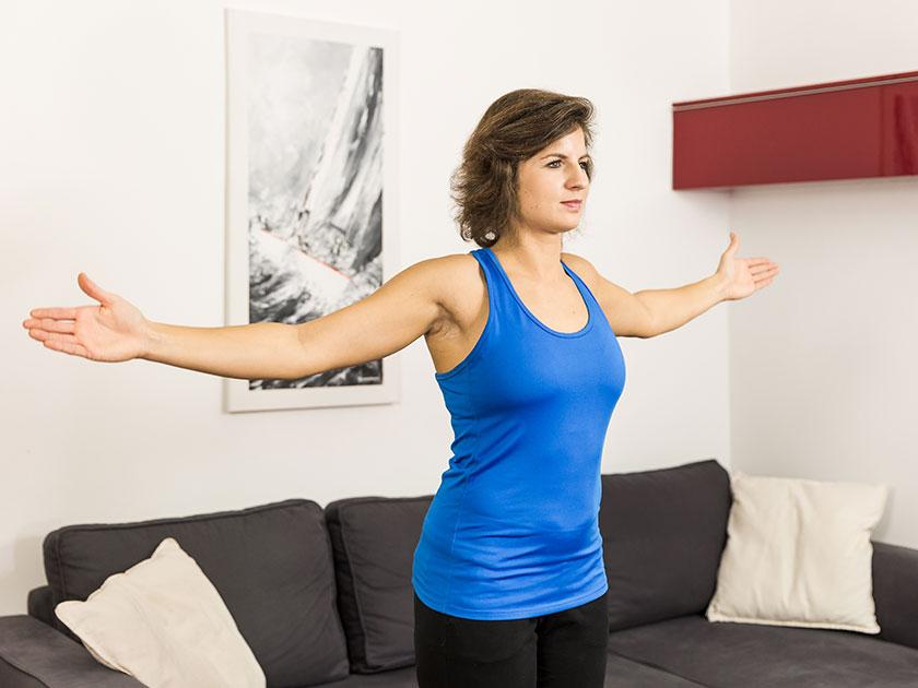 Teil II der Morgenroutine: Körperliche Aktivität.