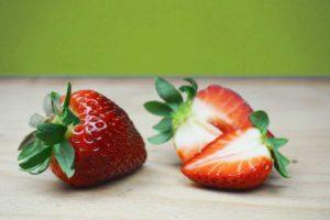 Die perfekte gesunde Zwischenmahlzeit: Erdbeere