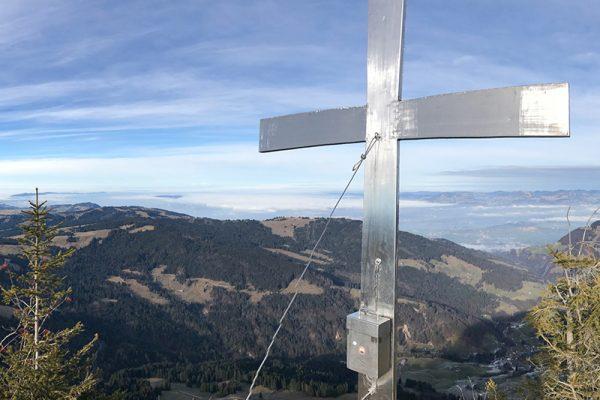 Ziel erreicht! Mit go4health am Gipfel des Groß Aubrig
