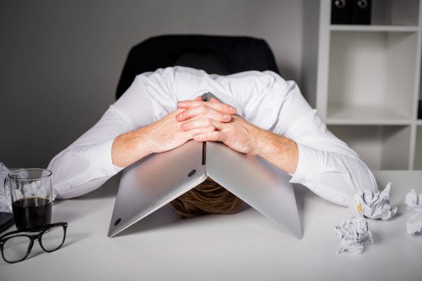 Zuviel Stress schadet der Gesundheit