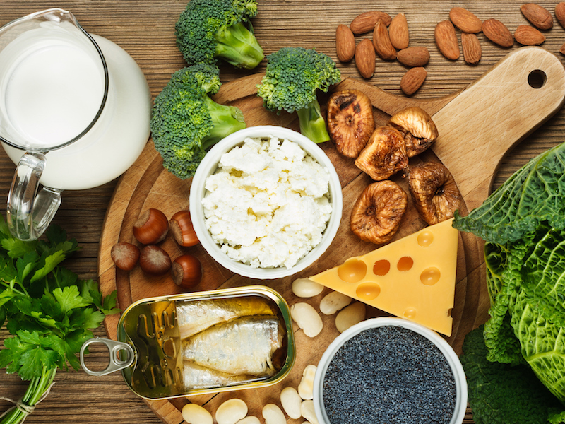 Calciumhaltige Lebensmittel im Sport