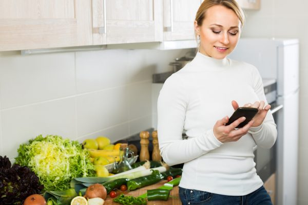 Kochen nach Zutaten mit go4health à la carte.