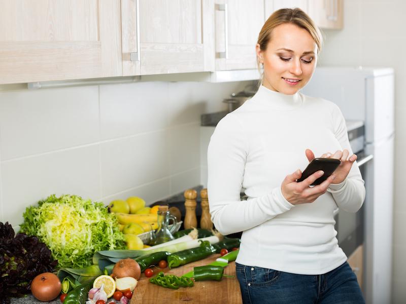 Kochen nach Zutaten: Finde mit go4health à la carte online gesunde Rezepte!