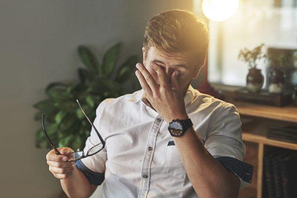 Heizungsluft macht die Augen trocken. go4health hat Gesundheitstipps für dich