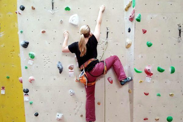 Klettern tut deinem Körper und deiner mentalen Gesundheit gut.