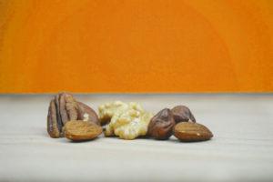 Walnuss, Haselnuss, Mandel - alles im go4health Ernährungs-ABC
