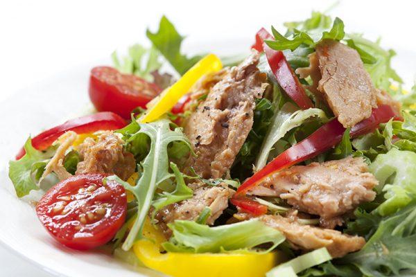 go4health Snacktipp: Thunfischsalat für zwischendurch