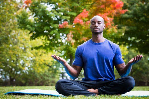 Yoga entspannt Körper und Geist